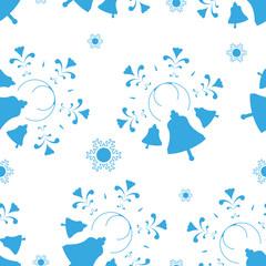 seamless Christmas background,  vector illustration