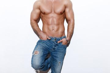 Sexy man body