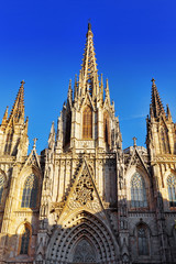 Cathedral of the Holy Cross and Saint Eulalia. Barcelona