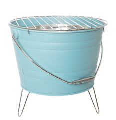 Light Blue Barbecue Grill