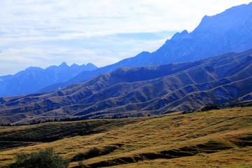 阿蘇の丘陵