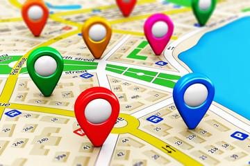 GPS navigation concept