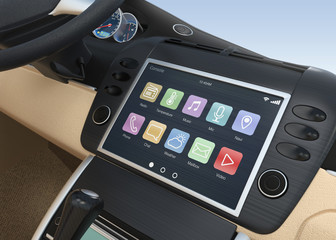 Concept of smart multimedia  system for car