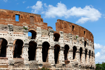 The Ancient Roman Coliseum