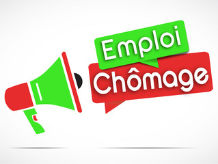 mégaphone : emploi  chômage