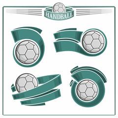 Handball emblems
