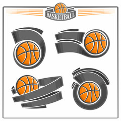 Basketball emblems