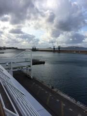 entree du port et du Vieux Port vu de la Joliette