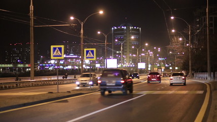 Traffic in the Night City