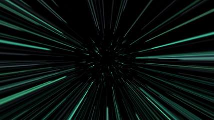 Green laser beams. 4K UHD 3840 x 2160