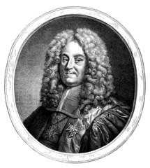 French Aristocracy 18th century : Man Portrait