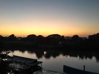 In the morning at Ayutthaya