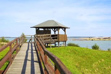 Wooden Observation Platform
