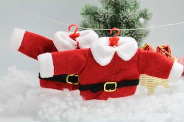 2 tenues du père Noel