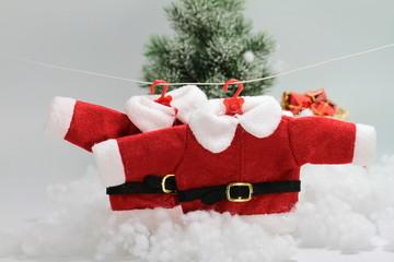 tenue du père Noel