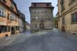 Historical houses in Bamberg, Germany