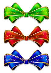 Bow in 3 color