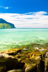 Lagoon Landscape Remote Resort