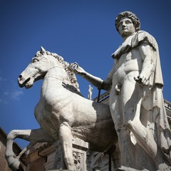 Rome monument - Dioscuro