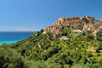Pisciotta, a small village the Cilento national park