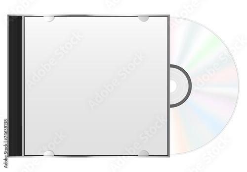 compact disc case - 74639138