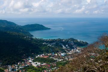 Viewpoint of island of Phuket, Thailand