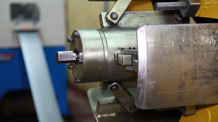 Unfolding roll steel