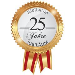 Jubiläum für 25 Jahre