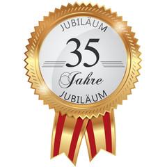 Jubiläum für 35 Jahre