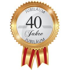 Jubiläum für 40 Jahre