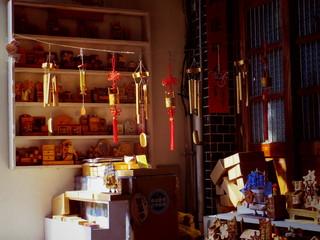 台湾, 鹿港の土産物屋
