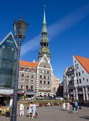 Town Hall Square in Riga