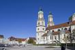 canvas print picture - Basilika St. Lorenz