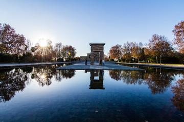 temple Debod in Madrid