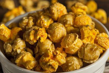 Chicago Style Caramel and Cheese Popcorn