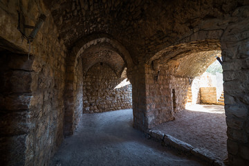Entrance to Yehi'am fortress