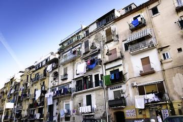Neighborhood in Naples.
