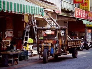 台湾, 鹿港の通り