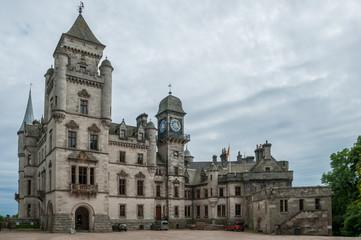 West entrance of Dunrobin Castle