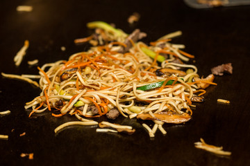 Fried noodle.