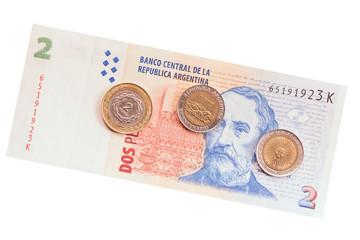 Argentinean money.