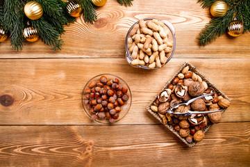 Christmas mixed nuts