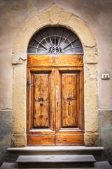Toskanische Tür