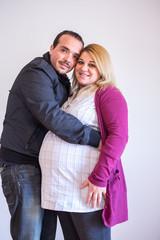 pareja esperando un hijo