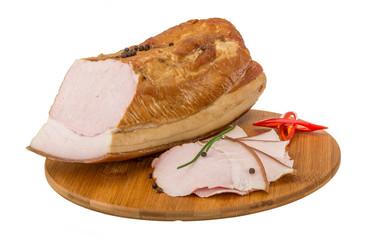 Ham on the board