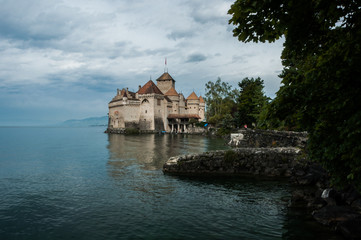 Chillon Castle view from south