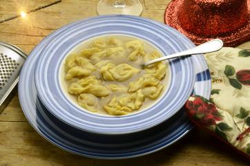 Tortellini in brodo Talianska kuchyňa Cucina italiana Expo 2015