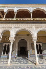 Seville - The Courtyard of Casa de Pilatos.