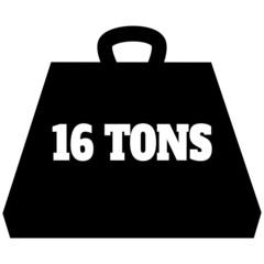 16 Ton Weight Icon