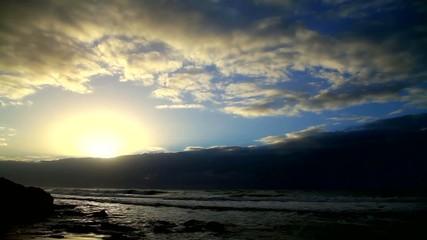 Time-lapse Sunset on the Mediterranean Sea